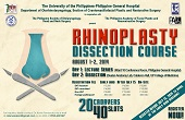 Rhinoplasty Dissection Course, August 1-2, 2014