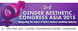 3RD GENDER AESTHETIC CONGRESS 2015  - Suntec Singapore Convention Centre